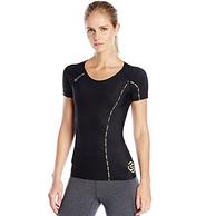 限大码,Skins 思金斯 Dnamic系列 女士短袖压缩衣