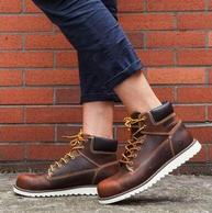 Wolverine 渥弗林 1883系列 W00336 男士真皮系带靴