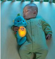 Fisher-Price费雪 声光毛绒抱抱海马玩具 蓝色