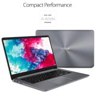 华硕 VivoBook F150UA 笔记本 (i5-8250U、8GB、 1TB、指纹识别)