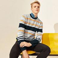 以纯 A21旗舰店:88%棉 男士 针织衫