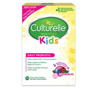 Culturelle Kids 儿童益生菌咀嚼片 浆果味30片