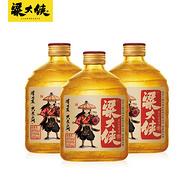 粱大侠 40度清香型白酒礼盒装300ml*3瓶装