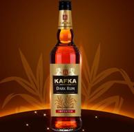 法国 Kafka 卡夫卡 黑朗姆酒750ml*3瓶