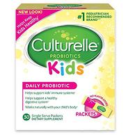 医师推荐!改善肠道健康,Culturelle 儿童益生菌粉 30袋