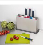 Joseph Joseph 约瑟夫 60090 分类菜板及炫彩刀具 组合套装