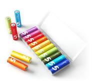 MI 小米 5号电池 彩虹电池碱性 5号 10粒装