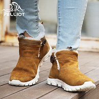 法国Pelliot 伯希和 情侣款户外雪地靴 3.5折 ¥249