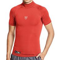 适合凑单: UNDER ARMOUR 安德玛 COMPRESSION 男士健身上衣 红色 4XL码