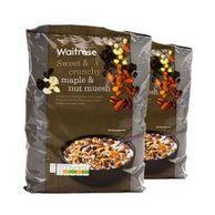waitrose 枫糖和坚果类什锦早餐麦片 1kg *2袋