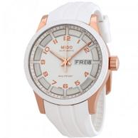 Mido 美度 Multifort 舵手系列 M018.830.37.012.80 女士机械腕表