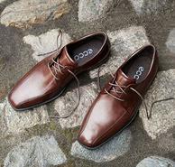 ECCO 爱步Edinburgh Modern Tie 男士真皮系带皮鞋