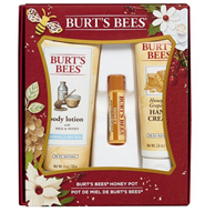 Burts Bees 蜂蜜护手霜、护唇膏礼盒 3件套
