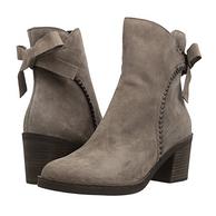 UGG Fraise Whipstitch Boot 女款真皮粗跟短靴