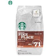 Starbucks 星巴克 Pike Place 派克市场 VIA免煮黑咖啡 340g