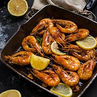 共三斤半!苏宁 厄瓜多尔冻南美白虾1.8kg 50-60只