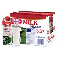 囤年货:妙可 全脂牛奶250ml*12盒*5件 +凑单品