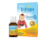 Ddrops婴儿维生素D3滴剂 400IU 90滴