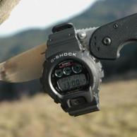 Casio 卡西欧 G-Shock  男士光动能6局电波表GW6900-1