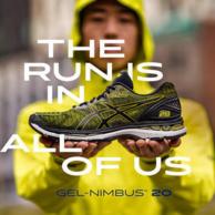 Asics全新款:亚瑟士 Gel-Nimbus 20 男士 顶级缓震跑鞋