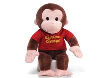 GUND 好奇的乔治 毛绒猴子玩具 12英寸