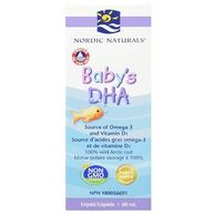 Nordic Naturals Baby's DHA 挪威鳕鱼婴儿鱼油 60ml