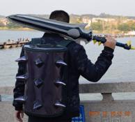 魔兽世界埃辛诺斯壁垒双肩包+风剑雨伞