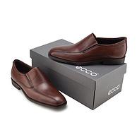 ECCO 爱步 男士真皮一脚蹬皮鞋