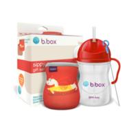 B.box 婴幼儿重力球吸管杯 中国红限量礼盒