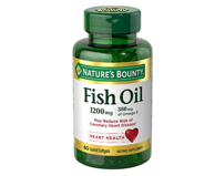 Nature's Bounty 鱼油1200mg 含Omega-3和Omega-6 60粒