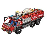 LEGO 乐高 机械组42068 二合一机场救援车消防车