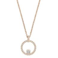 Prime会员:Swarovski 施华洛世奇 圆环水晶锁骨项链