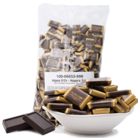 瑞士进口 爱普诗 纯黑巧克力 1000克
