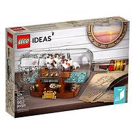 LEGO新品!Ideas系列之瓶中船 21313