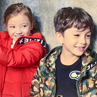 保暖还抗菌!波司登 90%白鸭绒 儿童 中长款羽绒服