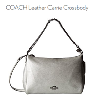 Coach 蔻驰 Leather Carrie 女士斜挎包
