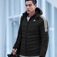 彭于晏同款:90%鹅绒 Adidas 阿迪达斯 男士羽绒服BQ8570