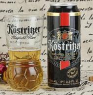 德国进口 Kostritzer 卡力特 黑啤酒 500ml*24听