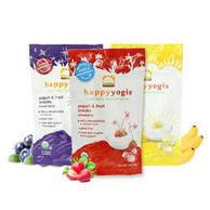 Happy Baby 禧贝有机水果溶豆 混合浆果+香蕉芒果+草莓味 28g*3袋