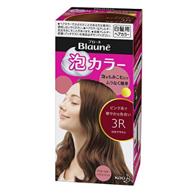 Prime会员:花王 Blaune 泡沫染发剂玫瑰棕色
