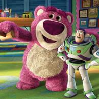 Disney 迪士尼 Lotso草莓熊 毛绒公仔 38cm