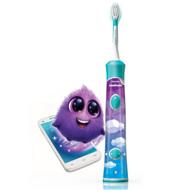 新低!刷头×2,Philips 飞利浦 HX6322/04 蓝牙版 声波震动儿童牙刷