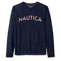 凑单品: NAUTICA 诺帝卡 男士长袖圆领T恤