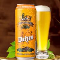 德国 Waidmann's Brau 猎人 小麦啤酒 500ml*18听*2件