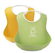 瑞典 BABYBJORN 婴幼儿防漏食物围嘴 2只装