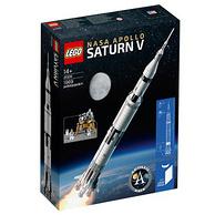 LEGO 乐高 21309 NASA 阿波罗计划 土星5号运载火箭