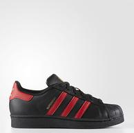 成人可穿!adidas 阿迪达斯 Superstar 大童金标贝壳头