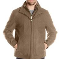 限M码:London Fog 伦敦雾 男士 羊毛 混纺夹克