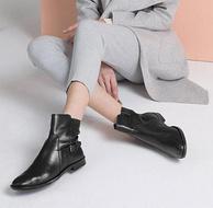 ECCO 爱步 Shape M 15 型塑15摩登 女士真皮短靴