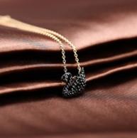Swarovski 施华洛世奇 小黑天鹅水晶项链 5204133